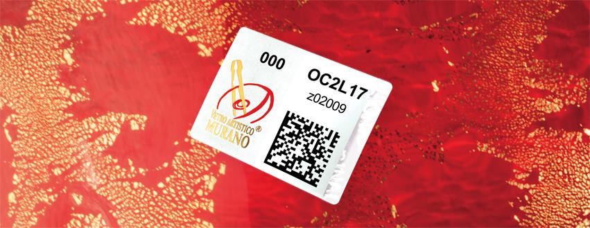 The new traceable VETRO ARTISTICO® MURANO trademark