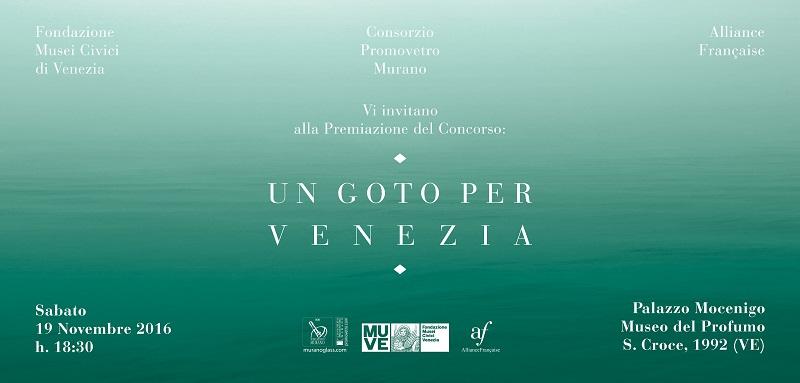 Un Goto Per Venezia 2 ed – Award ceremony