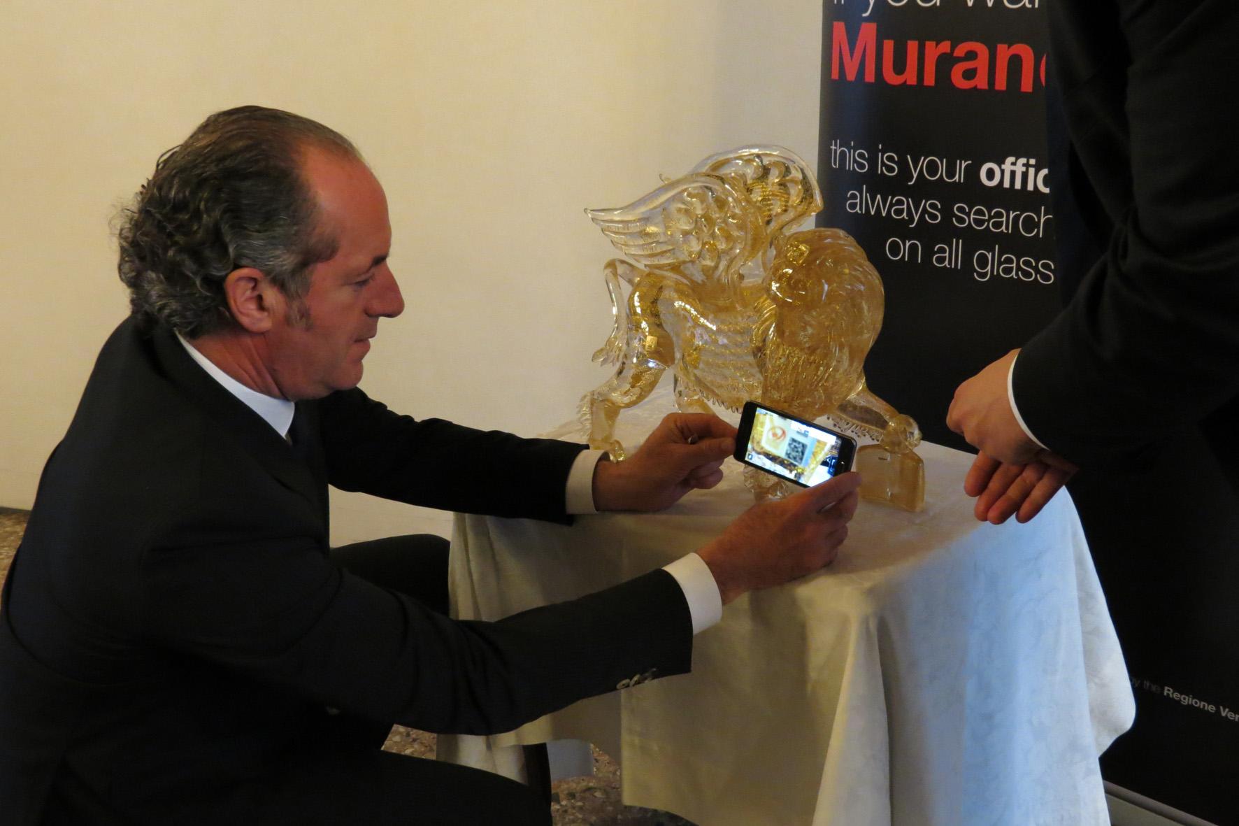 E realtà il nuovo marchio di tracciabilità Vetro Artistico® Murano