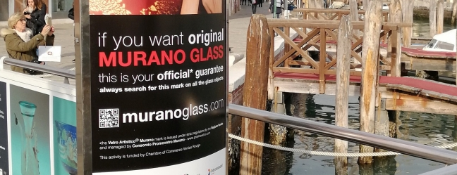The new advertising campaign of the Vetro Artistico® Murano trademark has started in Venice