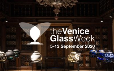 The dates for The Venice Glass Week 2020 have just been announced!