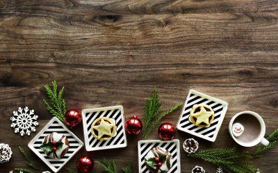 Murano glass under the tree!