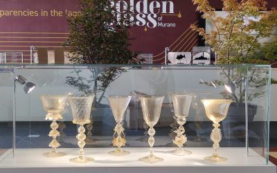 Golden Glass of Murano: an exhibition of glass and gold objects at Vicenzaoro